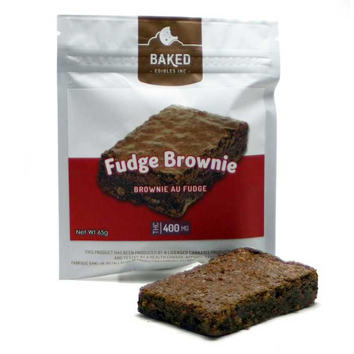 Fudge Brownie Cannabis Infused